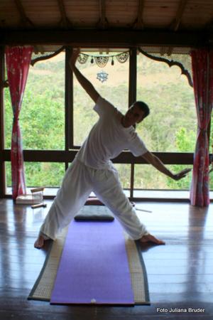 A proporiedade dispõe de locais perfeitos para a meditação e a yoga