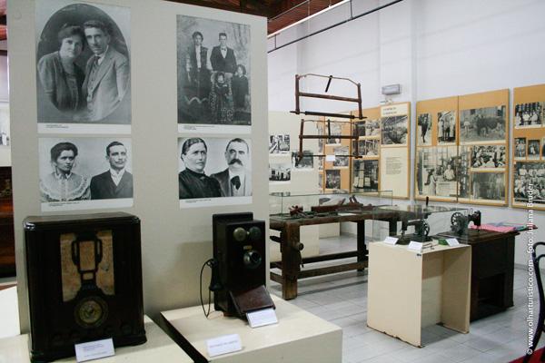 Museu Municipal, com grande acervo histórico sobre a forte imigração italiana na região.