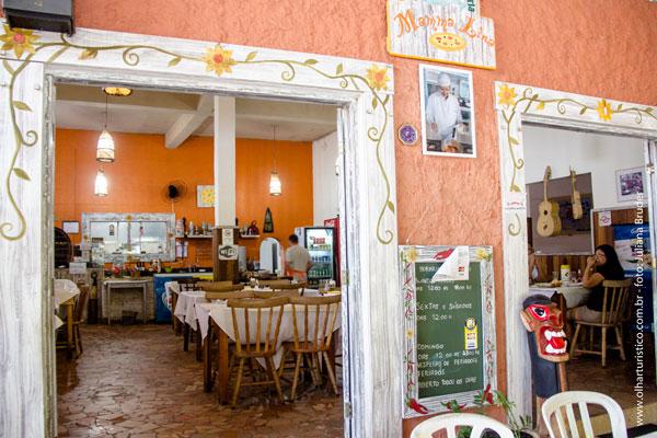 Restaurante Mamma Lina,Tainha a Guaraú