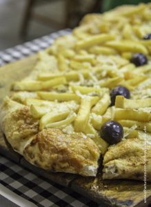Surpreendente Pizza de Batatas Fritas