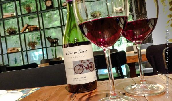 Vinho Chileno Tinto Bicicleta Pinot Noir