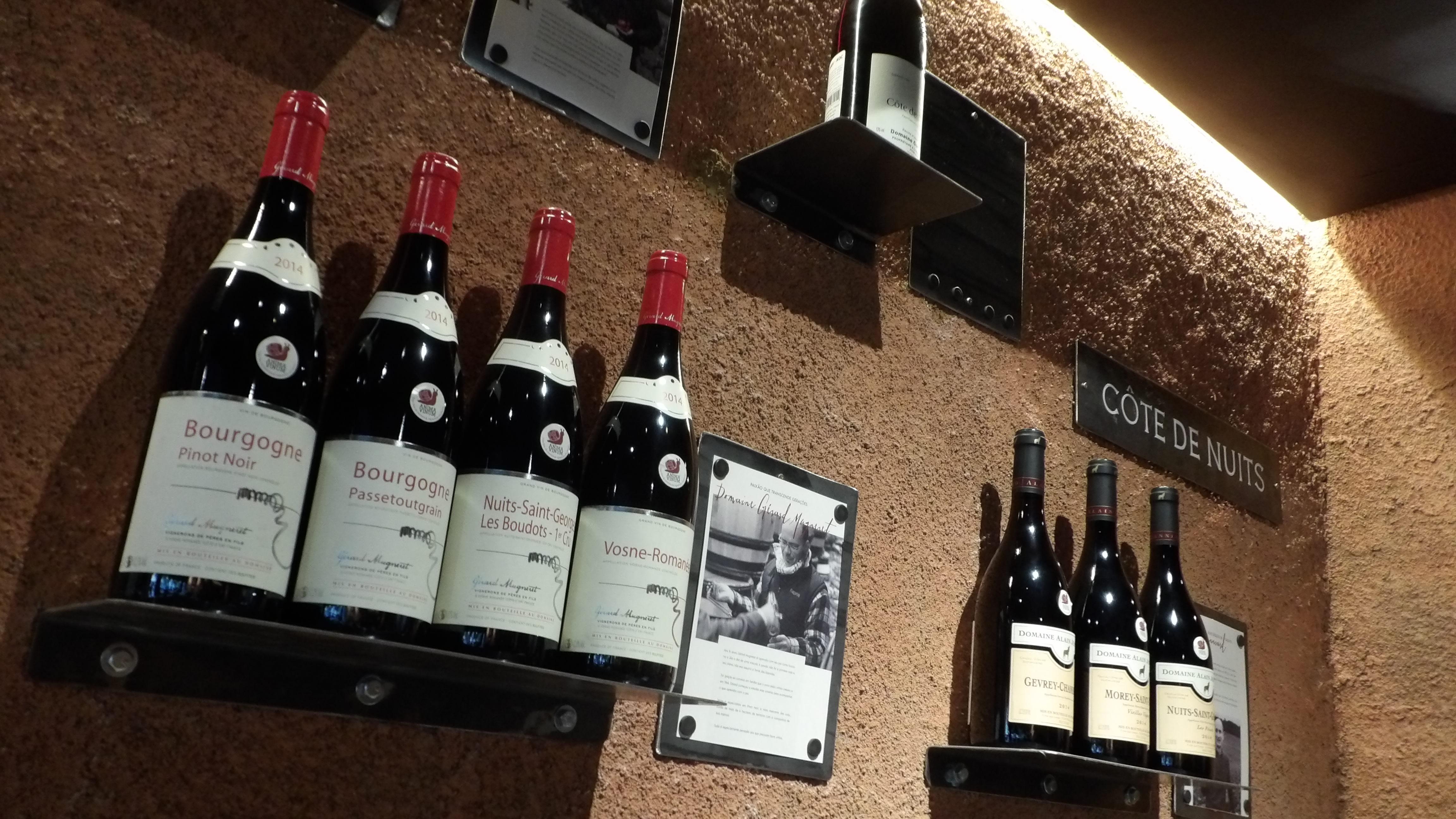 Espaço Bourgogne da Anima Vinum