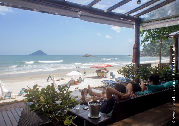 Restaurante Tamanás - Sofás de frente para o Mar