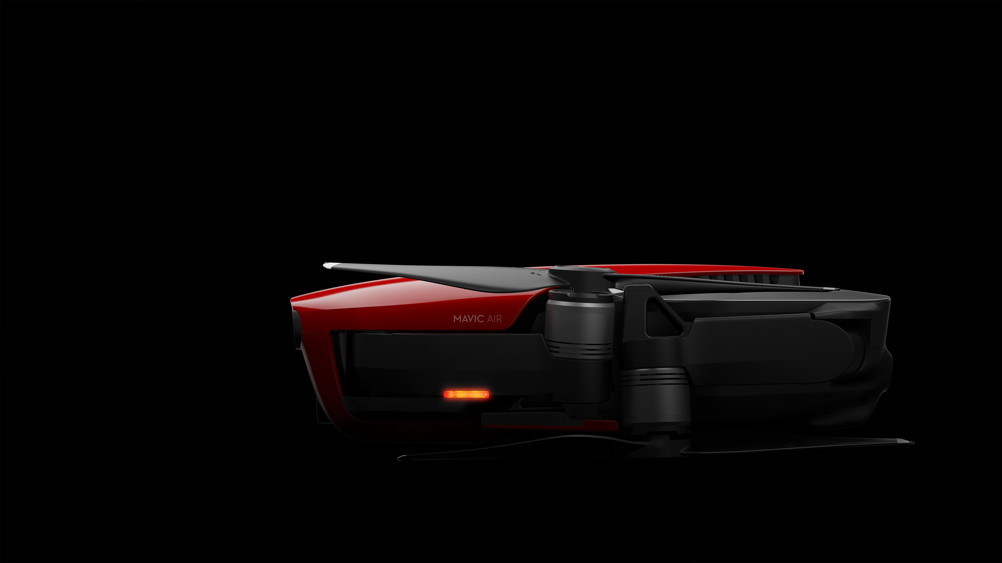 Mavic Air_Flame Red_side